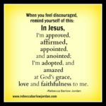 Encouragement for Discouragement